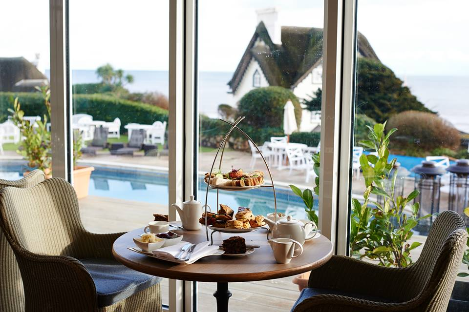 Sidmouth Harbour Hotel afternoon tea